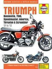 Haynes Repair Manual Triumph Bonneville 2001-2012
