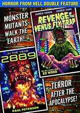 HORROR FROM HELL DOUBLE FEA...-HORROR FROM HELL DOUBLE FEATURE: REVENGE  DVD NEW