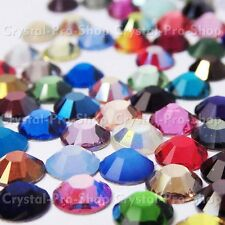 20ss Genuine Swarovski Hotfix Iron On Rhinestone nail Crystal 5mm ss20 setHD