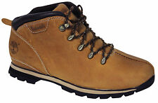 Timberland Splitrock Hiker Mens Hiking Boots Wheat Leather Lace Up A14MP D79