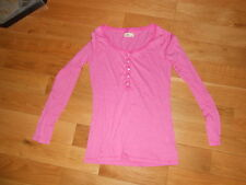 HOLLISTER PINK LONG SLEEVE KNIT TOP SIZE LARGE