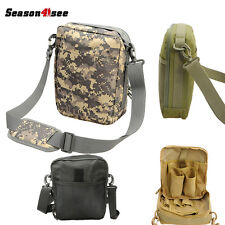 Tactical Military Shoulder Bag Backpack Outdoor Camping Hiking Phone Pouch