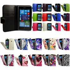Flip Pu Leather Flip Case Wallet Cover For The Nokia Lumia 520 525