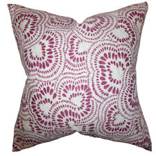 The Pillow Collection Glynis Floral Cotton Throw Pillow