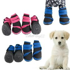 Pet Dog Boots Waterproof Anti-Slip Puppy Winter Shoes Protective Snow Booties