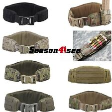 Tactical MOLLE Modular Padded Contoured Shape Battle Belt Hunting Waist Belt