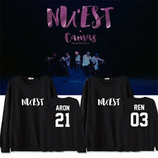 KPOP NUEST ARON Sweater Unisex NU'EST DONGHO Hoodie REN Pullover MINHYUN DONGHO