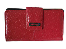 Kenneth Cole Reaction Women's Clutch Style Patent Logo with Kiss Lock Wallet NWT