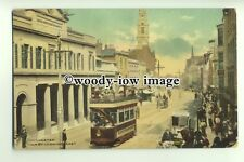 tp9437 - Essex - Town Hall & Trams,  on the High St. in Colchester - postcard