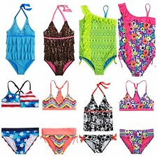 NWT Justice SwimSuit Swim Suit 1PC 2PC Tankini - Girls 6 8 10 12 14 18 & Half Sz