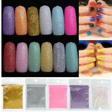 10g/bag Nail Art Chrome Pigment Gorgeous Shining Effect Nail DIY Glitter Powder