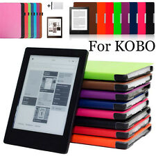 Magnetic Smart Folio Leather Cover Case For KOBO Arua One + Touch Pen + HD Film