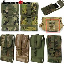 "Tactical Molle Cellphone Pouch Bag for iphone 6 Android Phone 5.5"" Case Cover"