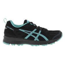 Asics Trail Tambora 5 Womens Black Blue Trail Running Shoes Trainers Size UK 5-9