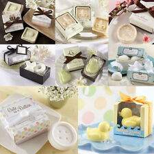 Cute Xmas Gift Mini Scented Bath Buttons Soap Wedding Favors Bridal Party Shower