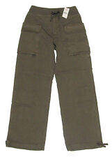 Double Ralph Lauren RRL Mens Olive Green Relaxed Chino Cargo Pants New Size XS