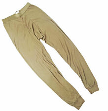 NEW Genuine USGI Military Drawers LWCWUS OD Brown Surplus Long Underwear NIP