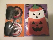 2 Papyrus Display Halloween Greeting Cards with Orange Envelopes Make Me Offer