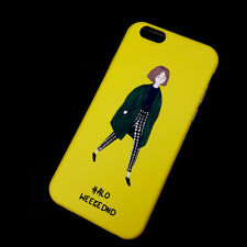 """For Apple iPhone 6 6S 4.7"""" Yellow Silicone Soft TPU Back case cover"""