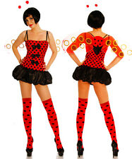 seXy ladybug Carnival Theme Party Fancy Dress Party Beetle Animal Costume 4 Pcs.