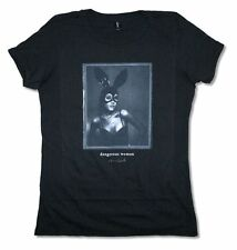 Ariana Grande Dangerous Woman Bunny Ears Girls Juniors Black T Shirt New