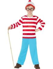 Child Licensed Where's Wally Kids Boys Book Outfit Fancy Dress Costume