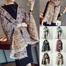 New Women's Winter Cashmere Wool Pashmina Tassel Shawl Wrap Scarf Scarves Stole