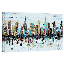 ArtWall 'Candyland' by Jolina Anthony Painting Print on Wrapped Canvas