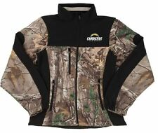 NEW 4XL Womans Realtree Xtra NFL San Diego Chargers Softshell Jacket Camo Coat