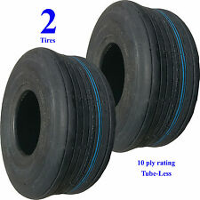 2) 15x6.00-6 Hay Tedder Farm Implement AG TIRE RIB 10ply TL 1,015 lb wt capacity