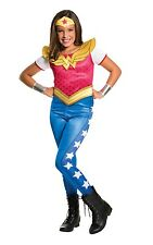 Childs Wonder Woman DC Superhero Fancy Dress Costume Outfit Age 3 - 10