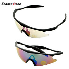 Tactical Windproof Protection Shooting Goggle Glasses Outdoor Hunting Cycling