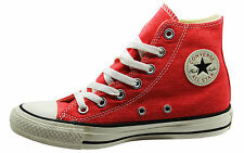 Converse CT AS Hi Top Unisex Mens Womens Canvas Trainers Red 147033C D73