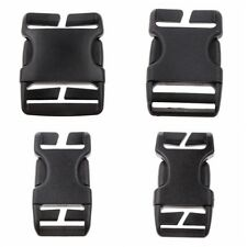 1Pcs 20/25/38/50mm Black Plastic Side Release Clasp Buckles Webbing Strap