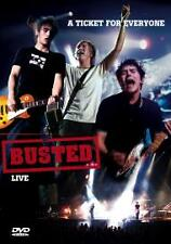 Busted - Live - A Ticket For Everyone (DVD, 2004) - Good Condition