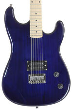 Davison Demo Blue Full Size Electric Guitar with Humbucker Pickup 2nd