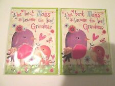2 Papyrus Happy Mother's Day Greeting Cards with Green Envelopes Make Me Offer