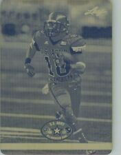 2012 DEVIN FULLER Leaf U.S. Army Rookie Press Plate UCLA  1/1