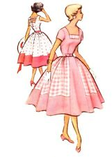 #159  ROCKABILLY DRESS PATTERN FOR ALL SIZE DOLLS