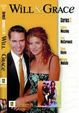 Will And Grace - Season 3 - Episodes 21-25 (DVD, 2003) - Good Condition