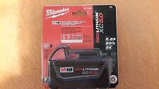 Milwaukee 48-11-1850 M18 RED LITHIUM XC 5.0 Extended Capacity Battery Sealed Pac