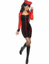 Adult Ladies Military Popstar Cheryl Cole Celeb Fancy Dress Costume