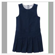 NWT Gymboree Girl Size 4 SCHOOL UNIFORM Navy Jumper Dress NEW