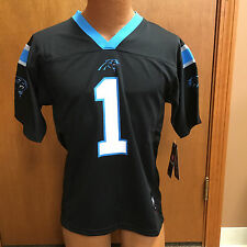NFL CAROLINA PANTHERS CAM NEWTON YOUTH JERSEY BRAND NEW WITH TAGS