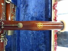 Vintage Schreiber & Sons(Sohns) wood bassoon wcase*FOR PARTS*NO RESERVE*