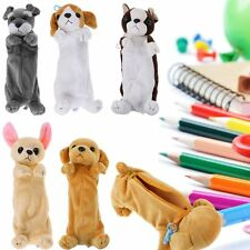Plush Doll puppy Pencil Pen Bag Case Box Cosmetic Pouch Brush Holder Makeup Bag