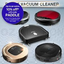 Automatic Recharge Robotic Vacuum Cleaner LED Floor Sweeper Mop Robot