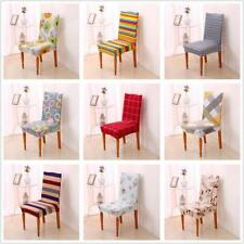 Super Fit Dining Chair Slip Cover Armless Stretch Slipcovers 9 Patterns