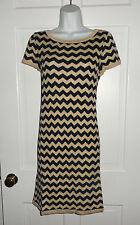 NWT LILLY PULITZER  TRUE NAVY DAZZLE SANTANA STRIPE SWEATER DRESS L XL