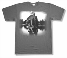 B.B. King One Kind Lucille Pic 2010 Tour NM Grey T Shirt New Official Blues BB